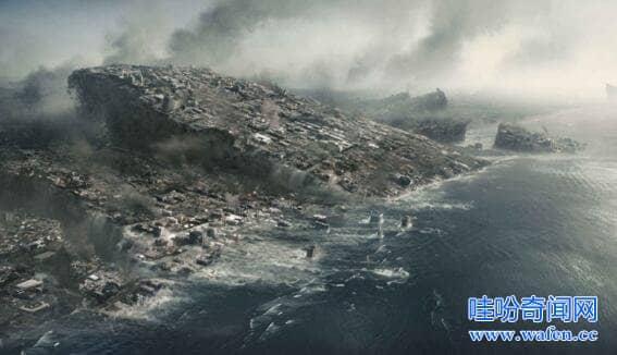 世界上最大的地震95级智利城市被毁并掀翻太平洋日本都遭难